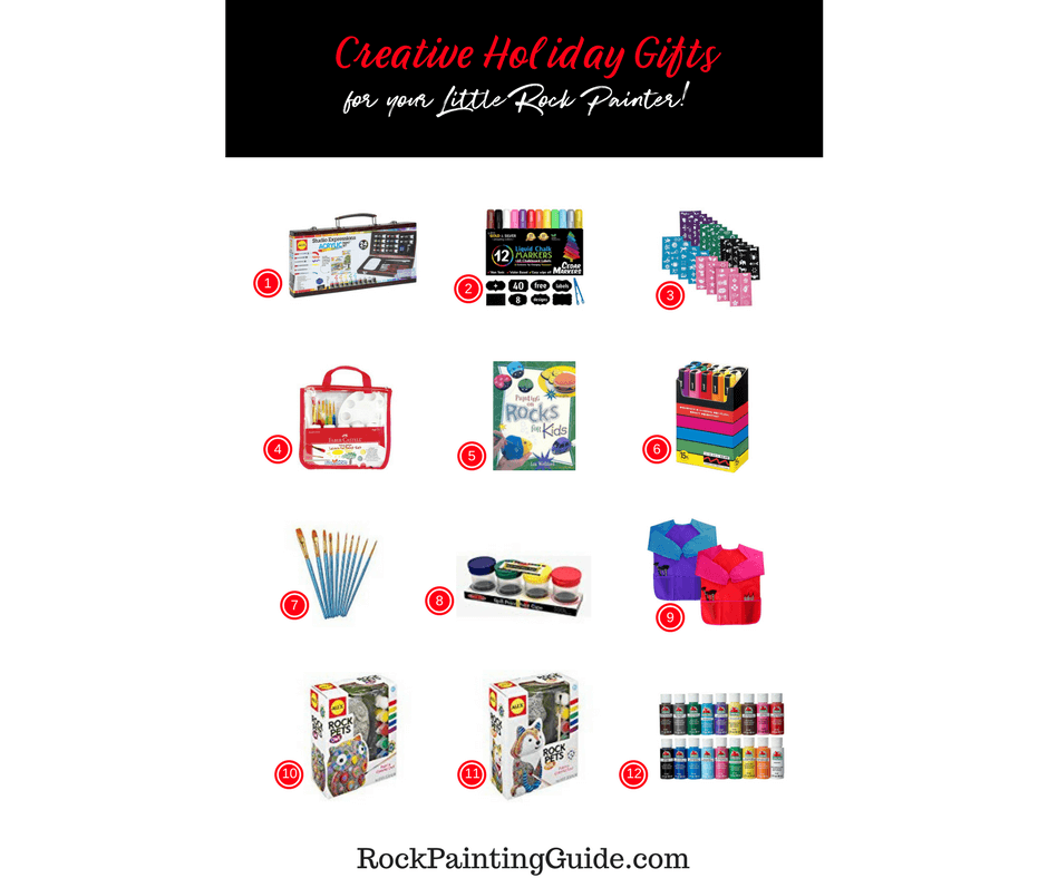 Creative Holiday Gifts for your Little Artist