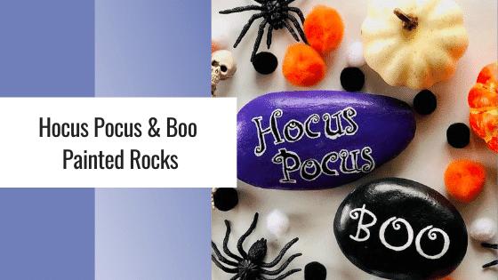 Hocus Pocus Painted rocks