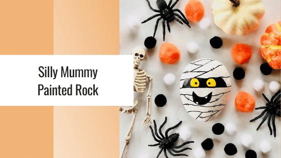 mummy painted rocks