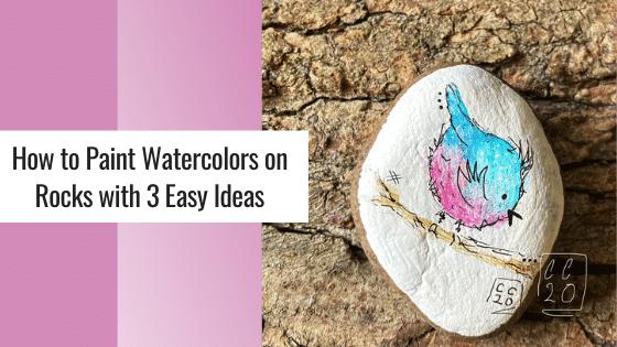 watercolor blue bird painting