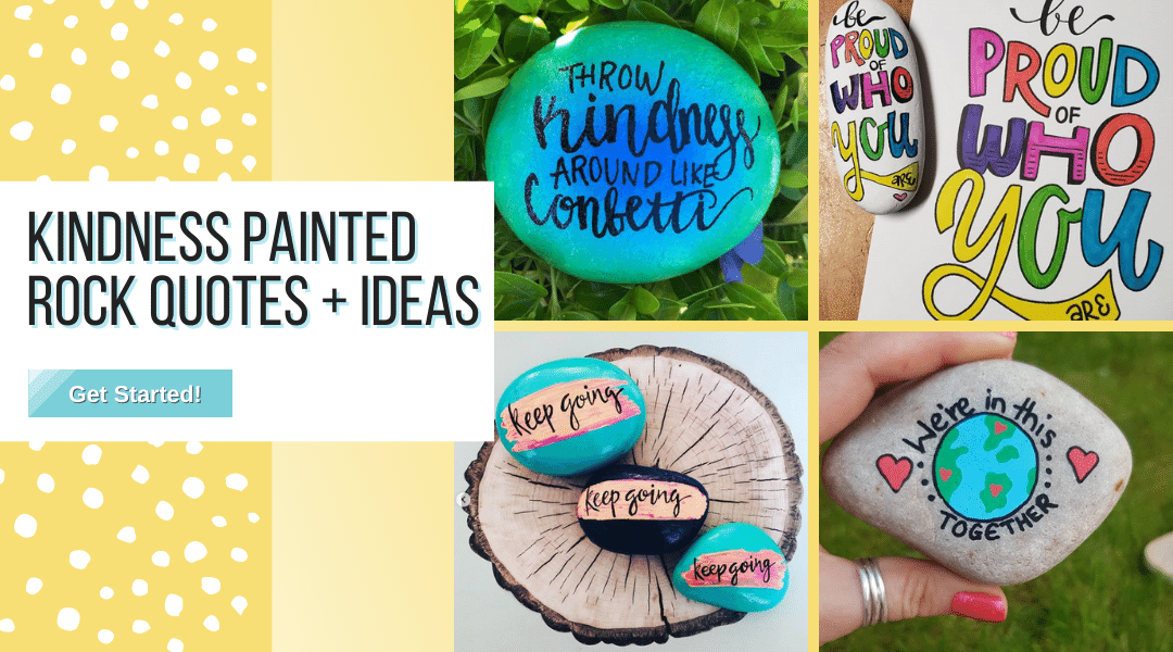 kindness painted stones